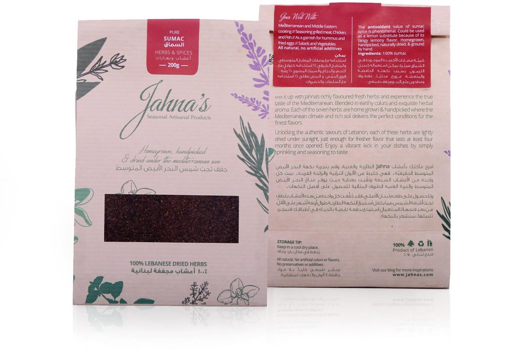 Seasonal Products - Jahna's